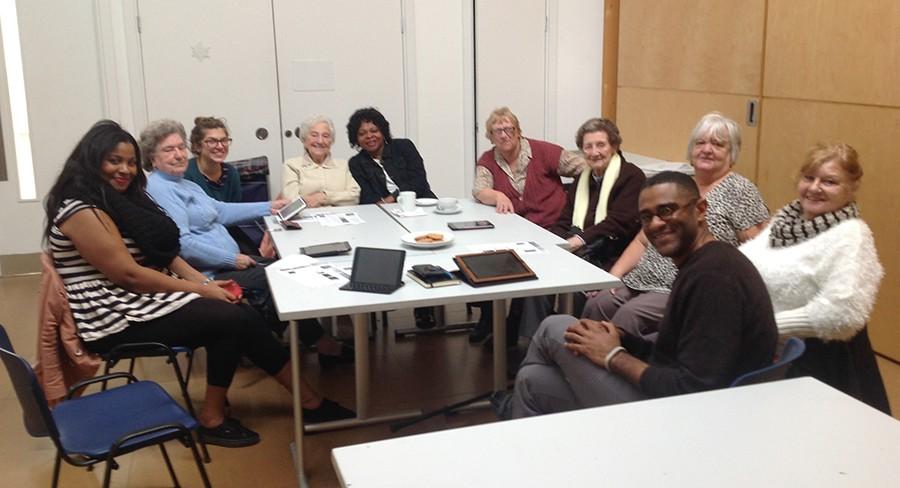 From left D.Oludipe, M.Dobbs, L.Irvine, J.Okah, D.Hoadley, V.Toll, L.Pink, T.White, R.Reynolds